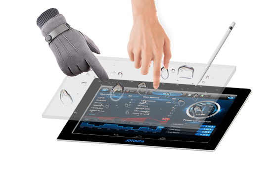 Thick Glass Touch